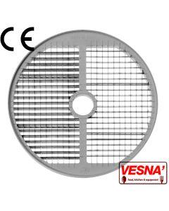 Disco per cubettare 8x8 mm Ø 250 x tutti Chef 600-800 Celme