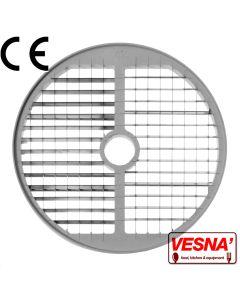 Disco per cubettare 10x10 mm Ø 250 x tutti Chef 600-800 Celme