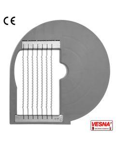 Disco per bastoncini ondulati taglio 10 mm per tutti Chef 600-800 Celme