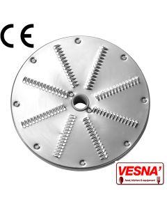 Disco per sfilacciare 3 mm x tutti Chef Ø 205 Celme