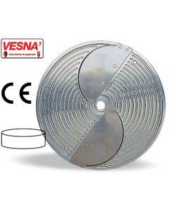 Disco per taglio spessore 1 mm sagomato x Chef Magnum Ø 330 Celme