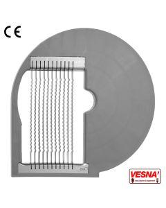 Disco per bastoncini ondulati taglio 6 mm per tutti Chef 600-800 Celme