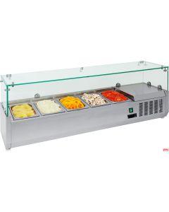 Espositore frigo da banco per per conservare i cibi freschi anche yogurt
