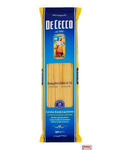 Pasta De Cecco Spaghettini n° 11 da 500 g semola di grano duro
