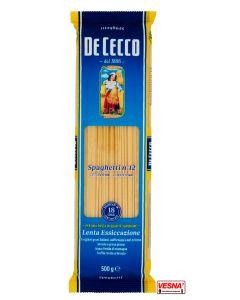Pasta De Cecco Spaghetti n°12 da 500 g semola di grano duro