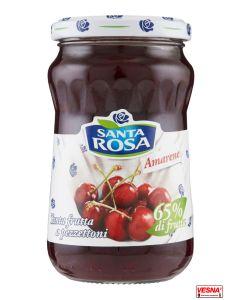 Marmellata confettura extra di amarene 350 g by Santa Rosa
