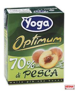 Succo Pesca Yoga Optimum 200 Ml