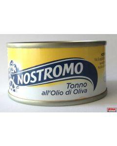 Tonno in scatola in olio oliva Nostromo 70 g