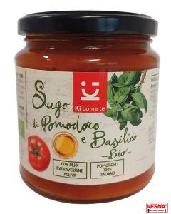 Sugo di solo pomodoro e basilico 290 g Biologico
