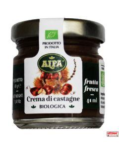 Marmellata di Castagne in monodosi vetro da 40 g BIO by Alpa