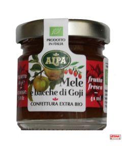 Marmellata di Mele e Bacche di Goji in monodosi da 40 g BIO by Alpa