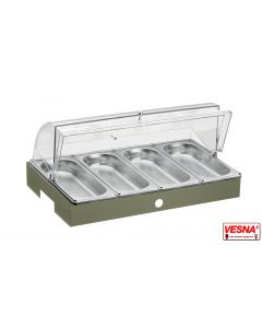 Vassoio refrigerato porta verdure Base/salvia