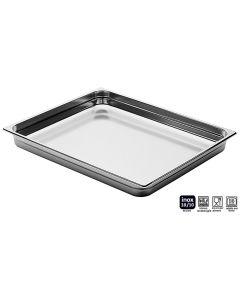 Bacinelle Pinti inox Gastronorm 2/1 h da 20 a 200 mm sovrapponibili