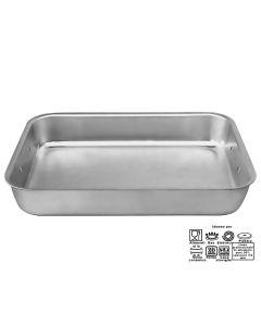 Lasagnere professionali in alluminio da 25 a 60 cm spessore 3 mm