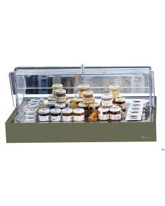 Vassoio refrigerato porta Burro Marmellata Base/salvia
