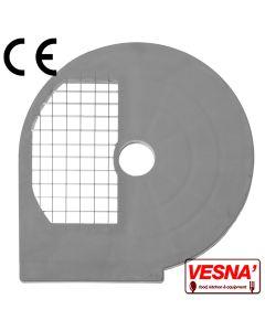 Disco per cubettare 12x12 mm Ø 250 x tutti Chef 300-400 Celme