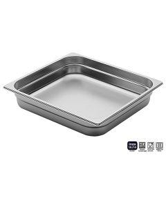 Bacinelle Pinti inox Gastronorm 2/3 h da 20 a 200 mm sovrapponibili