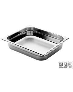 Bacinelle Pinti inox 18/10 Gastronorm 1/2 h da 20 a 200 mm