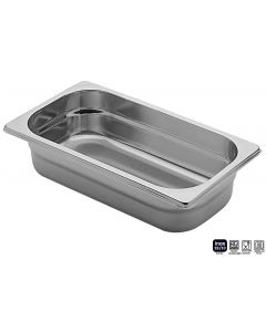 Bacinelle Pinti inox forate Gastronorm 1/3 h da 65 a 150 mm