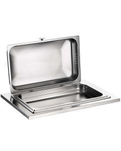 Chafing Dish in acciaio inox 18/10 con frizione senza base in legno