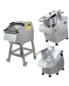 Tagliaverdura o mozzarella professionale Chef  600-800 e Magnum in Acciaio Inox