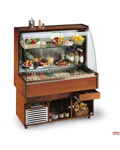 Buffet completo murale refrigerato con cantinetta °C+4° a +10°