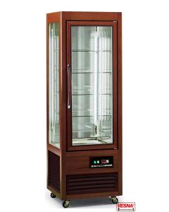 Vetrina frigo per pasticceria temperatura positiva regolabile struttura legno massello TECFRIGO