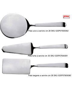 Pala inox 18/10 per lasagne torta e uovo Astra per servire con vassoi