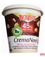 Crema Novi di cioccolato e nocciole spalmabile 200 g