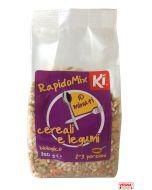 Cereali con legumi precotti BIO 250 g Rapidomix by Ki Group