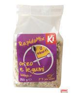 Cereali precotti orzo e legumi BIO 250 g Rapidomix by Ki Group