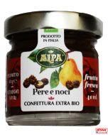 Marmellata di Pere e Noci monodosi in vetro da 40 g Bio by Alpa