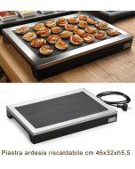Espositore riscaldabile con piastra ardesia 230 Volt 40 Watt